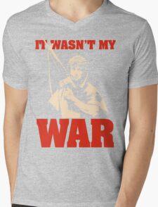 It Wasn't My War (Rambo) Mens V-Neck T-Shirt