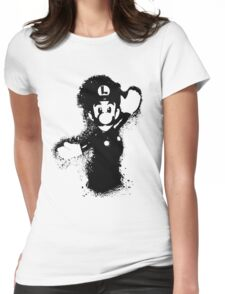 Luigi Womens Fitted T-Shirt