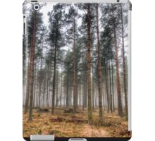 Pine Trees in Morning Fog. iPad Case/Skin