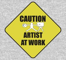 artist at work sign One Piece - Long Sleeve