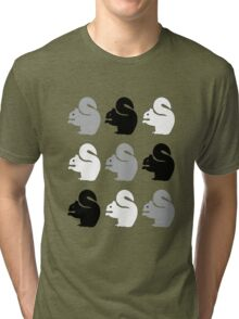 Big Squirrel Palette Tri-blend T-Shirt