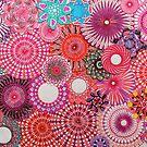 Pink Spirograph Art! by RachelEDesigns
