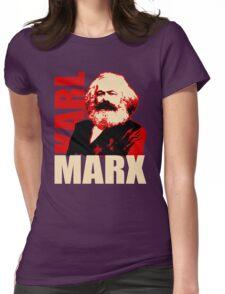 Karl Marx Socialist T-Shirt Womens Fitted T-Shirt