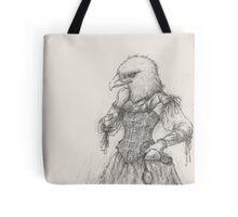 Steampunk Lady Eagle Tote Bag