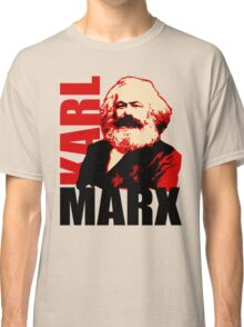 Communist Karl Marx Portrait Classic T-Shirt