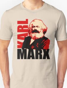 Communist Karl Marx Portrait T-Shirt
