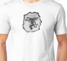 Ball o' Fire (Black and white) Unisex T-Shirt