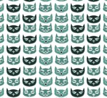 So Many Blue Cats Sticker