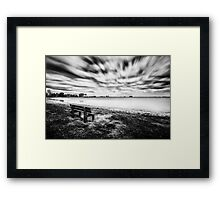 Waiting for the End Framed Print