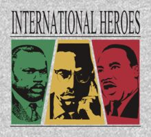 INTERNATIONAL HEROES by Indayahlove