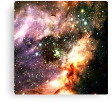 Greater Than [Messier 17]   Mathematix Canvas Print