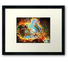 Omega [Heart And Soul Nebula] | Mathematix Framed Print