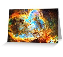 Omega [Heart And Soul Nebula] | Mathematix Greeting Card