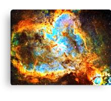 Pi Symbol 3.14 [Heart and Soul Nebula] | Mathematix Canvas Print