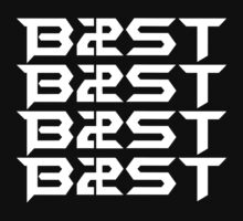 비스트 BEAST B2ST Logo White by ApriliantoAlf