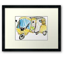 Tuk Tuk Super Cute Framed Print