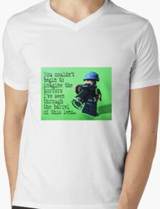 The Press Photographer by Tim Constable  Mens V-Neck T-Shirt