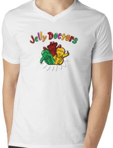 Jelly Doctors Mens V-Neck T-Shirt