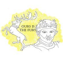 Renly Baratheon Photographic Print