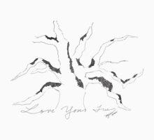Tree with Moss Baby Tee