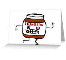 Funny Nutella Greeting Card