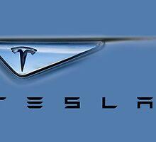 Tesla by damhotpepper