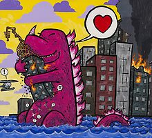 Burntroxodon's First Date by joehavasy
