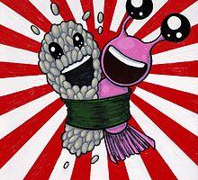 Sushi Hug! by joehavasy