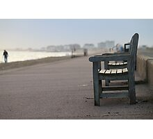 Hythe Beach Photographic Print
