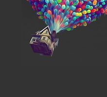 UP Balloons - Oil Style by Niall Forrest