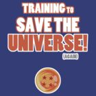 Goku - Training to Save the Universe! (Orange) by Cosmodious