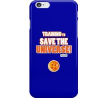 Goku - Training to Save the Universe! (Orange) iPhone Case/Skin