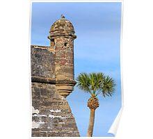 Spanish Fort Watchtower Poster