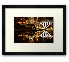 House by the canal Framed Print