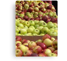 Colorful Apples, Union Square Farmers Market, Union Square, New York City Canvas Print