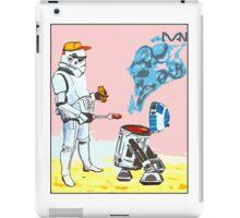 Star Wars BBQ- a piece of street art in Bristol by Dan iPad Case/Skin