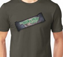 The Milky Way Galaxy Candy Wrapper Unisex T-Shirt