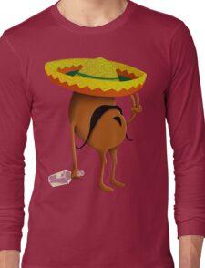 Mexican Peace Bean Long Sleeve T-Shirt