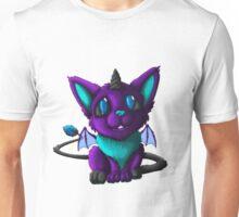 The Blue Galaxy Demon Unisex T-Shirt