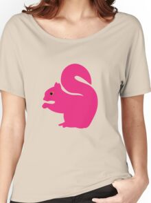 Big Pink Squirrel Women's Relaxed Fit T-Shirt