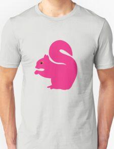 Big Pink Squirrel Unisex T-Shirt