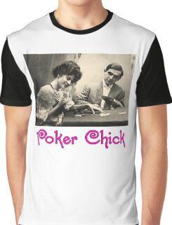 Poker Chick Graphic T-Shirt