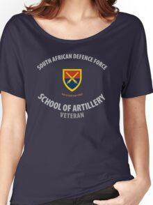 SADF School of Artillery Veteran Women's Relaxed Fit T-Shirt