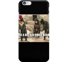 SWAG BEAR iPhone Case/Skin