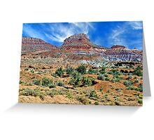 Utah Colors Greeting Card