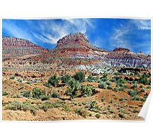 Utah Colors Poster