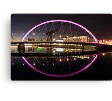 Glasgow Clyde Arc Canvas Print