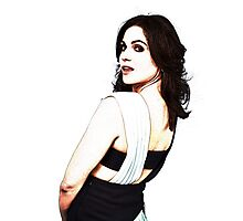 Lana Parrilla - Once Upon a Time Photographic Print