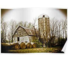 BARN FROM DAYS OF YORE Poster