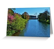 River Taff & Millennium Stadium, Cardiff Greeting Card